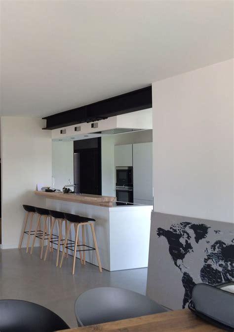 projet atelier cuisine cuisine moderne ouverte avec ipn apparente projet de