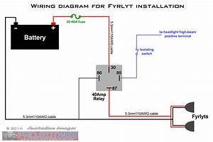 Motorcycle Driving Lights Wiring Diagram