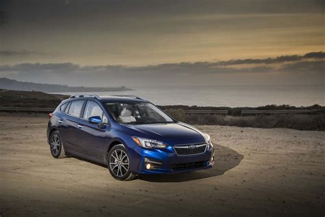 subaru hatchback all new 2017 subaru impreza bows in new york automobile