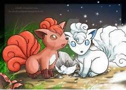 Growlithe and Vulpix b...