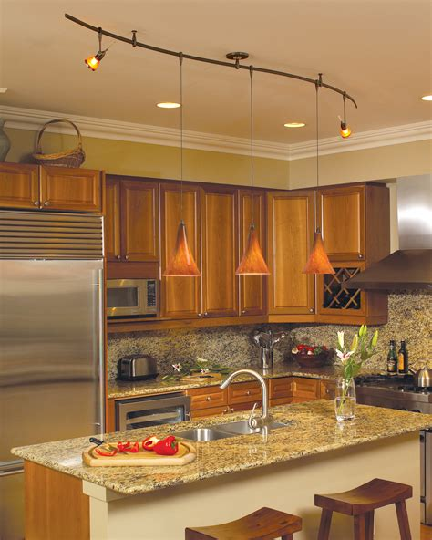 kitchen recessed interior design lighting solutions