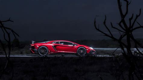 Wallpapers One Night In Lambo's 740bhp Aventador Sv Top