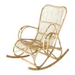 rocking chair en rotin rocking chair en rotin louisiane maisons du monde