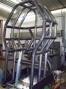 Pulling Tractor Roll Cage