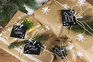Cadeau Noel Original : diy un papier cadeau style naturel made in meubles ~ Melissatoandfro.com Idées de Décoration
