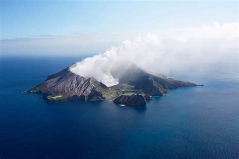 white island   active volcano   zealand