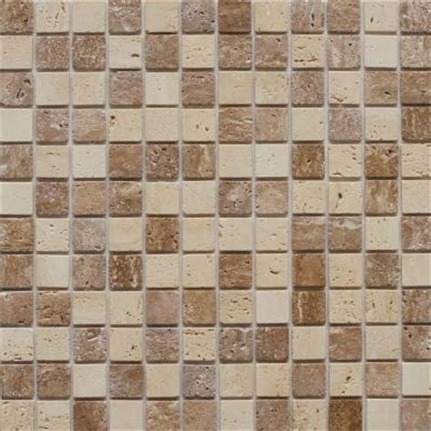 instant mosaic 12 in x 12 in peel and stick natural
