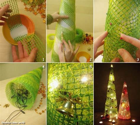 do it yourself tutorials christmas trees decorations
