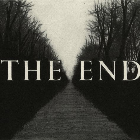 The End  Roberts Print