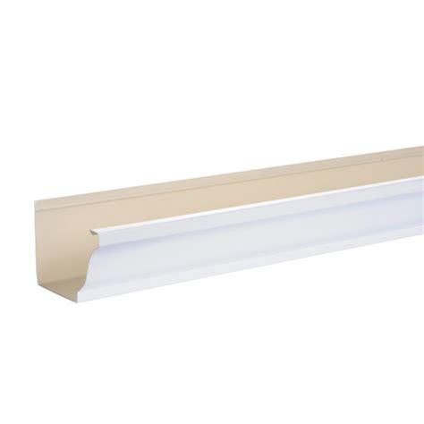 gouttière pvc blanc goutti 232 re aluminium blanc 3ml brico toiture