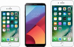 Iphone 7 Comparatif : l 39 cran du lg g6 met une claque l 39 iphone 7 frandroid ~ Medecine-chirurgie-esthetiques.com Avis de Voitures