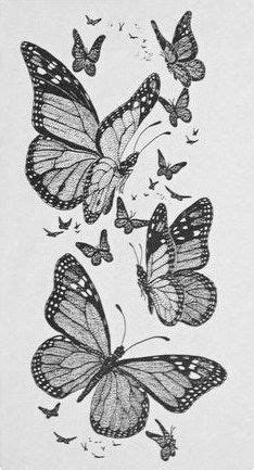 Drawing: Monarch Butterflies Flickr - Photo Sharing! #CreativeTattoos Click to see more