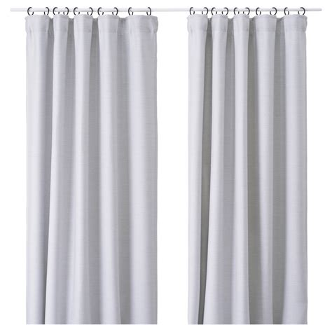 light gray bedroom curtains vilborg curtains 1 pair light grey 145x250 cm ikea
