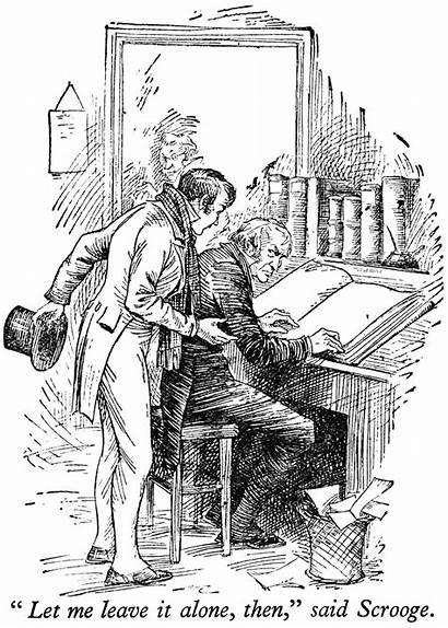 Carol Christmas Dickens Clipart Charles Scrooge Nephew