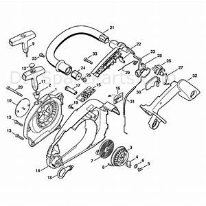 Stihl Ms 191 Chainsaw  Ms191t  Parts Diagram  Fan Housing