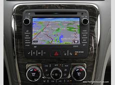 2014 Buick Enclave Interior, Dashboard, Picture Courtesy