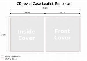 image gallery cd cover outline With free cd jewel case insert template