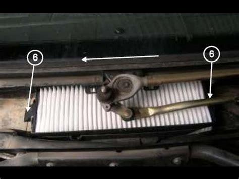 comment remplacer le filtre  air dhabitacle filtre