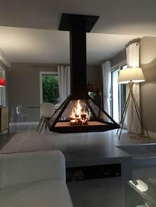 Cheminée Bois Design : les 25 meilleures id es de la cat gorie chemin e suspendue ~ Premium-room.com Idées de Décoration