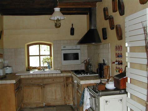 deco maison cuisine decoration cuisine maison de cagne