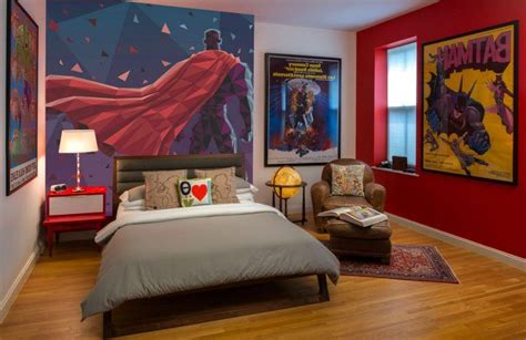 20 Of The Most Awesome Superhero Themed Bedrooms Exterior Painted Doors Best Oil Based Paint Lowes Colors Interior How To Remove From Brick Textured Woodies Auto Plastic Car Job Cost