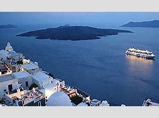 Santorin l'île de la Grèce, parmis les beautés du monde!