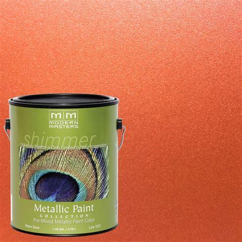 Modern Masters 1 gal. Burnt Orange Metallic Interior