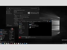 Windows Black Edition Theme For Windows 10 RTM Windows10