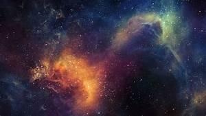 Download 2560x1440 Stars, Nebula, Galaxy, Colorful ...