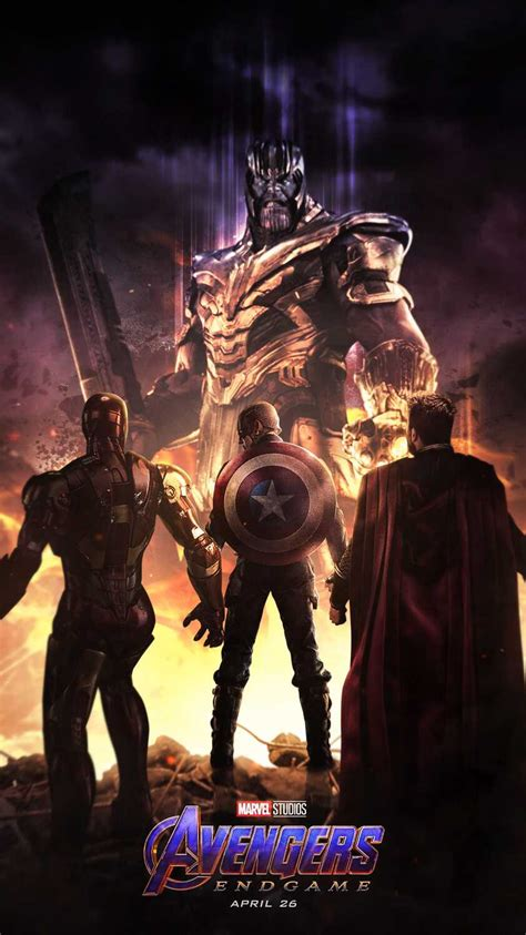avengers endgame thanos  avengers iphone wallpaper