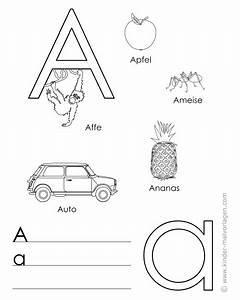 Buchstaben Basteln Vorlagen : alphabet lernen buchstaben lernvorlagen ~ Lizthompson.info Haus und Dekorationen