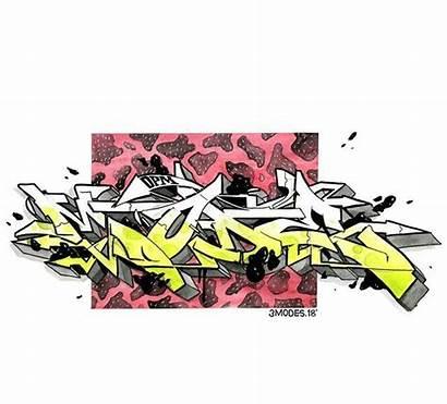 Graffiti Ink Watercolor Blackbook Sketching Uploaded Outline