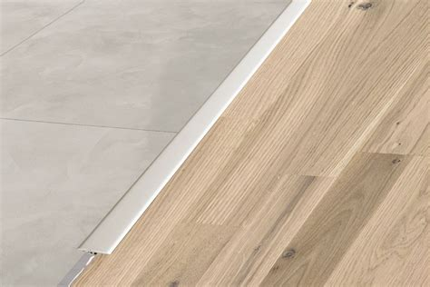 flooring used on reno my reno schluter 174 reno t same height transitions for floors profiles schluter ca