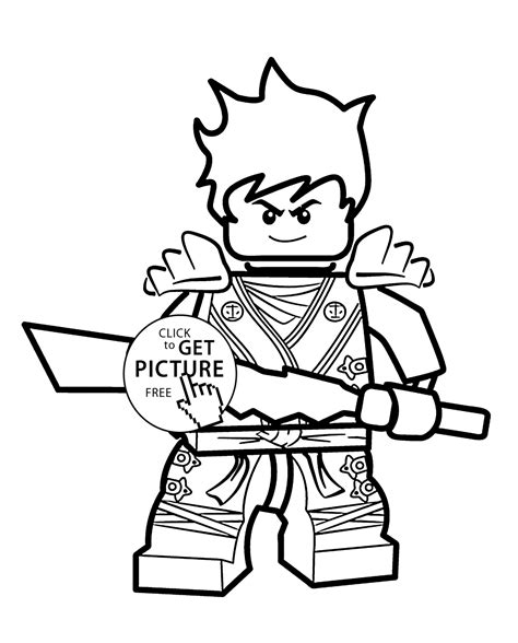 kai ninjago coloring pages  kids printable  lego