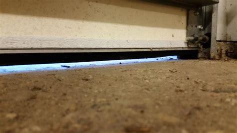 Garage Door Uneven by New Garage Door Bottom Seal Now Door Won T Sit Level