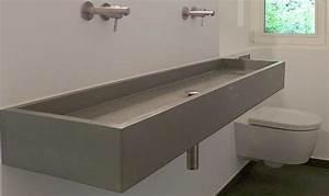 Waschtisch Aus Beton : waschtisch aus beton block form in funktion ~ Lizthompson.info Haus und Dekorationen