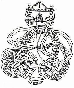 Symbole Mythologie Nordique : pingl par bland n ragnars ttir sur j rmungand broderie viking tatouage viking et vikings ~ Melissatoandfro.com Idées de Décoration