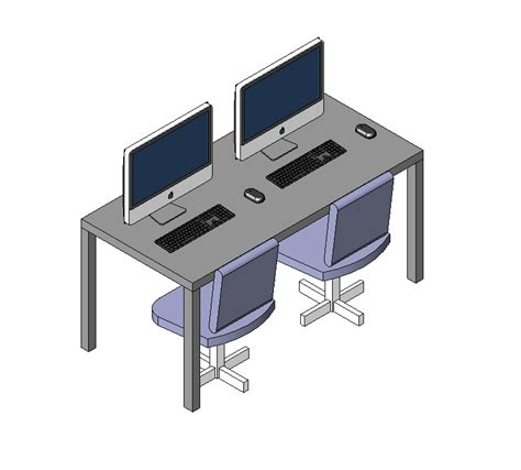 bureau dwg computer desk free 28 images white build a parson
