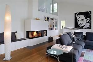 Bilder Modern Wohnzimmer : wohnzimmer kamin bilder ideen couch ~ Orissabook.com Haus und Dekorationen