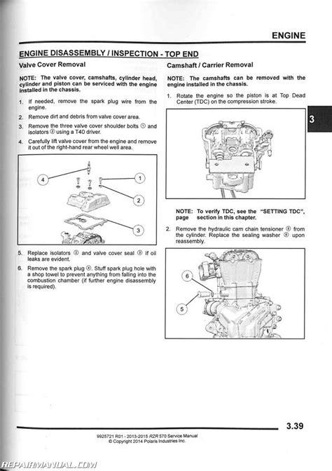 Polaris Rzr Side Service Manual