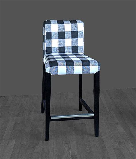 blue buffalo check bar stools 899 best ikea slipcovers and pillows images on 7935