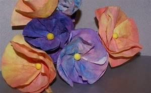 fleurs en filtres a cafe un bouquet pour maman nanou With amazing couleur de peinture pour toilette 18 activites du mois