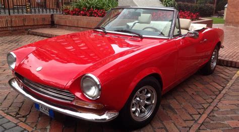 1968 Fiat Spider by Fiat 124 Sport Spider 1968 Restoration Finished Fiat 124