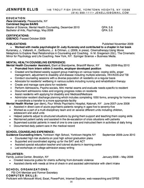 mental health worker resume http resumesdesign