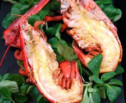 cuisiner le homard vivant homard grillé aux épices fines o recette de homard