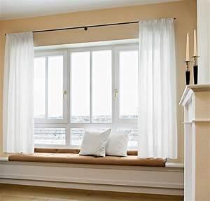 Fenstergestaltung Ohne Gardinen : vorhangschienen und stangen die gardine ~ Eleganceandgraceweddings.com Haus und Dekorationen