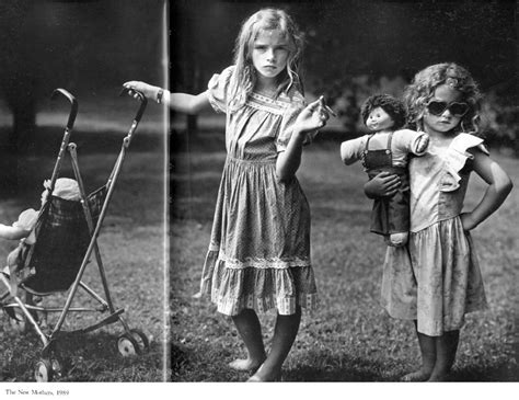 """Sally Mann  Immediate Family  """"the New Mothers"""" 1989"""
