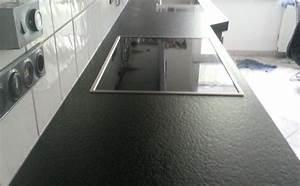Granit Geflammt Und Gebürstet : d sseldorf nero assoluto india granit arbeitsplatten ~ Markanthonyermac.com Haus und Dekorationen