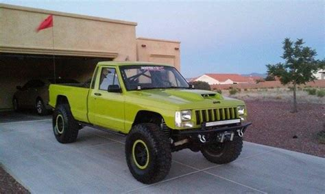 lifted jeep comanche  build ideas truck pics