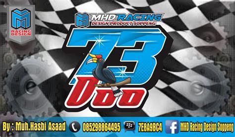 mhd racing design soppeng kumpulan desain nomor start